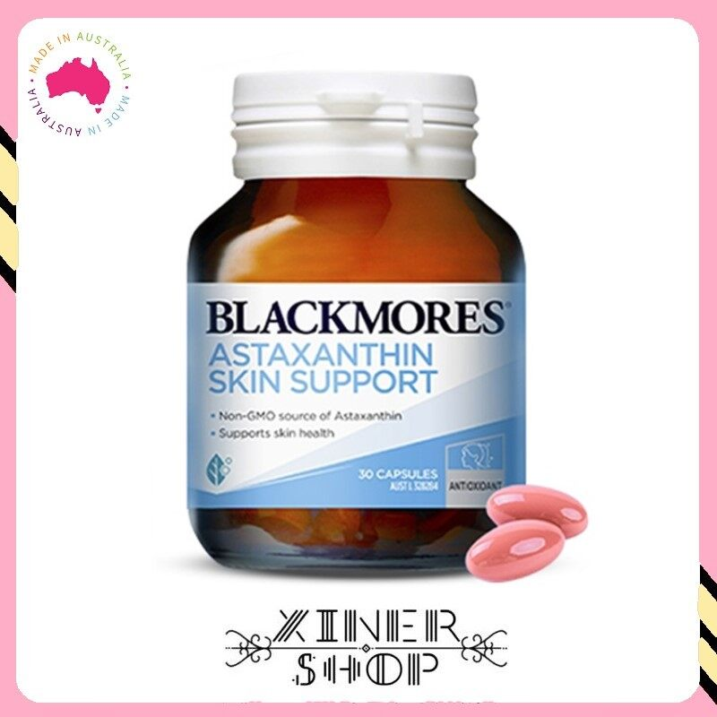[Pre Order] Blackmores Astaxanthin Skin Support ( 30 capsules)(Made in Australia)