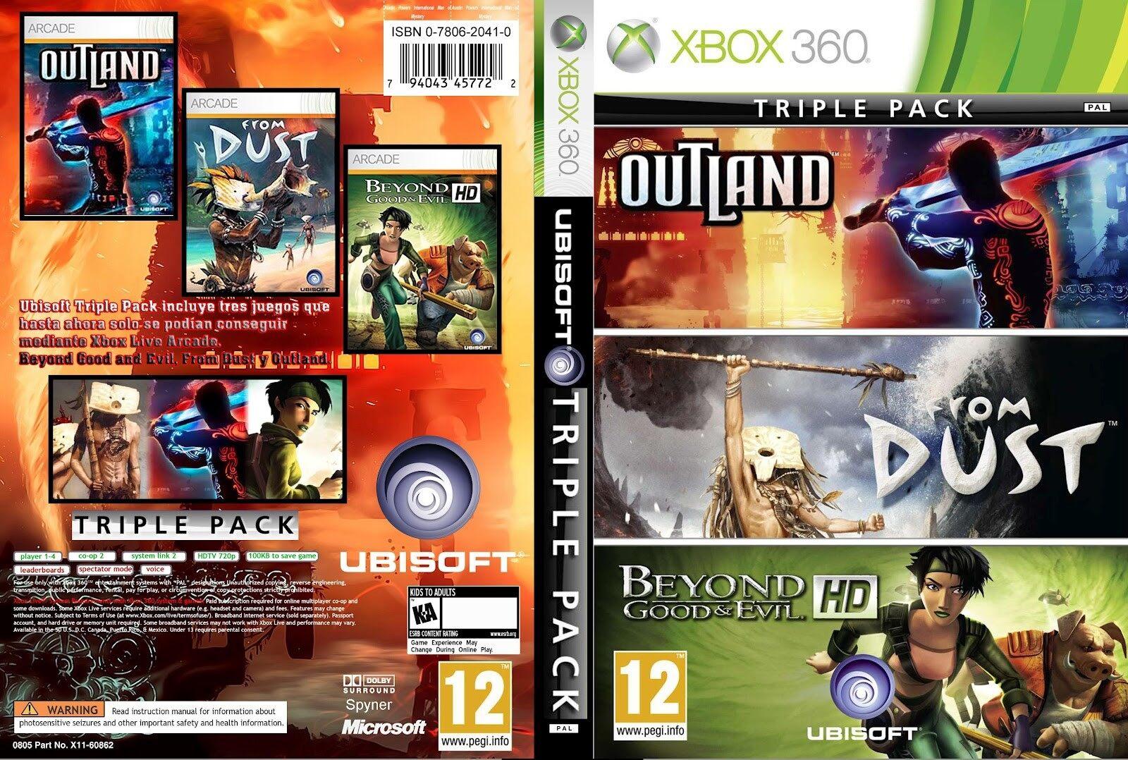 XBOX 360 Ubisoft Triple Pack