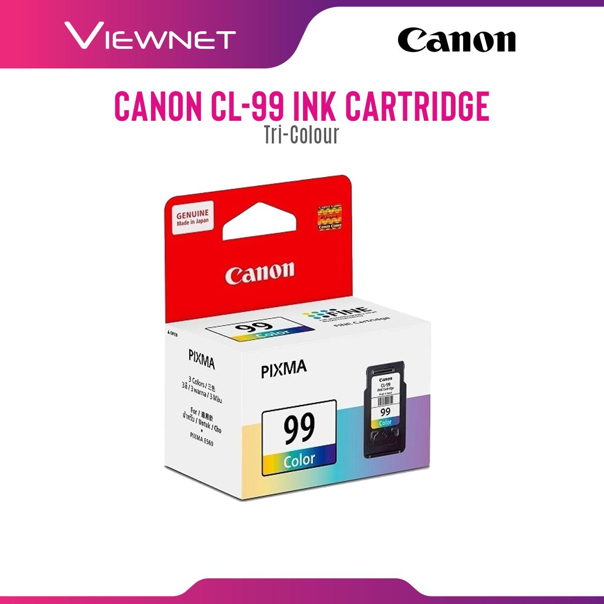Canon PG-89 (Black), CL-99 (Color) Ink Cartridge for Printer Pixma E560