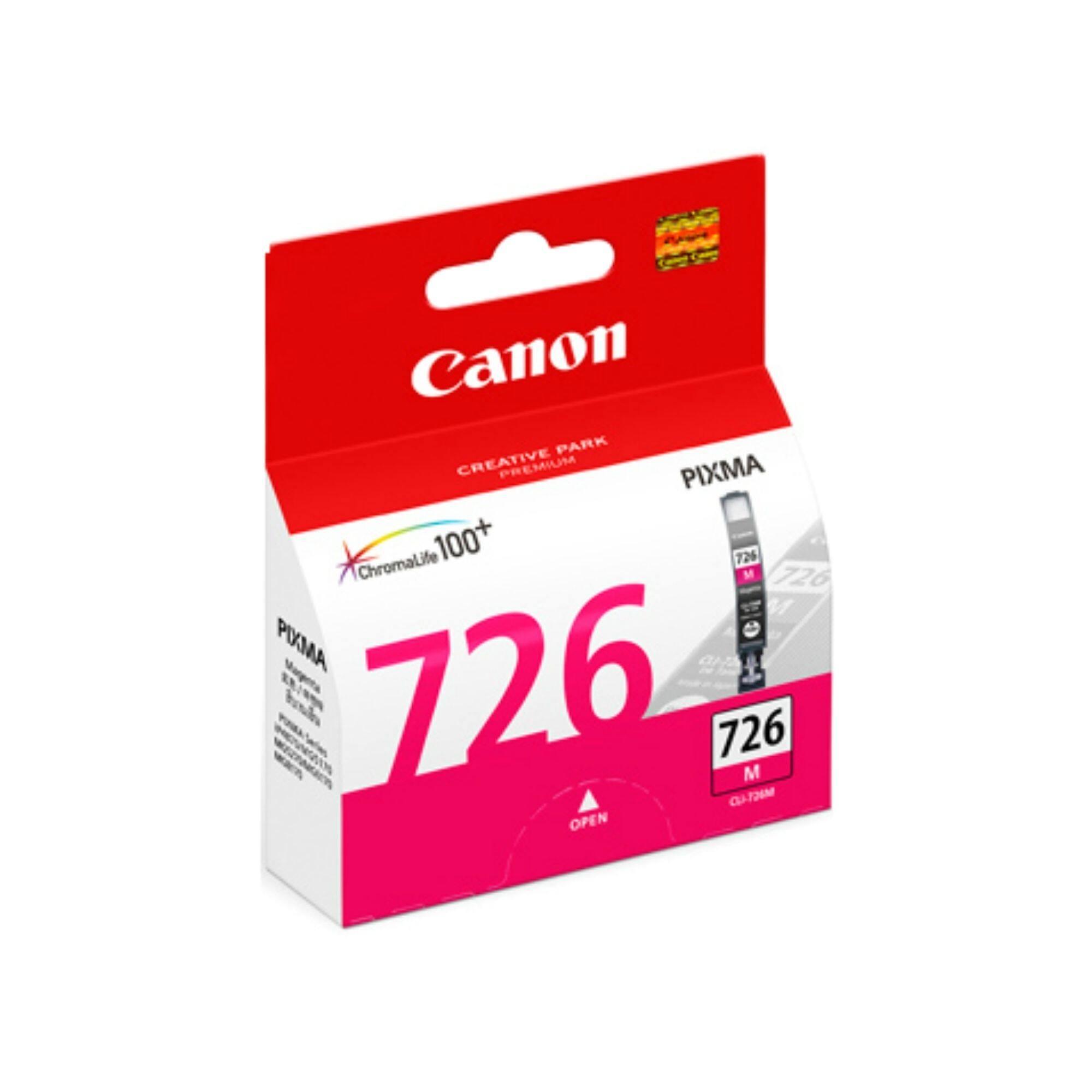 Canon CLI-726 Magenta Cartridge for iP4870/4970, MG5170/5270/5370/6170/6270/8170/8270, MX886/897, IX6560 Printer