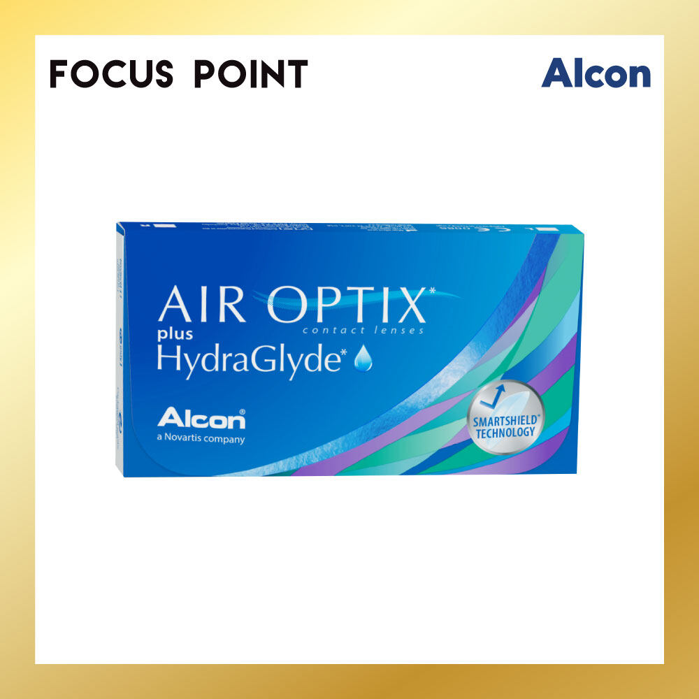 Air Optix Plus Hydraglyde Monthly (3 PCS)
