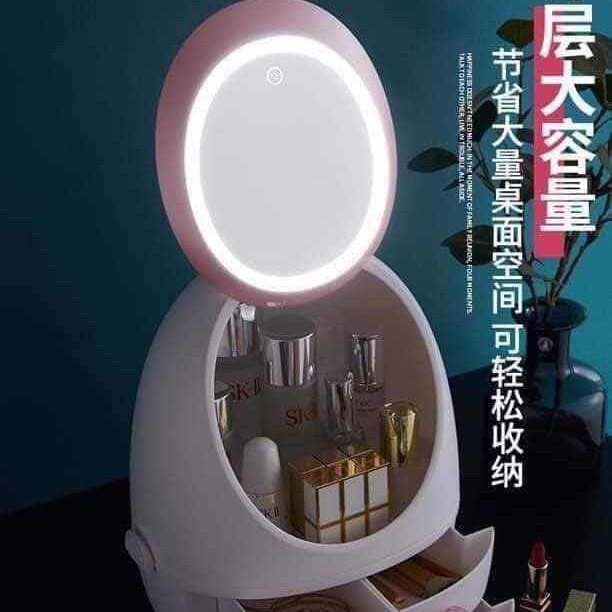 MALAYSIA READY STOCK Led 化妆镜子盒 化妆盒 化妆品 LED Make UP mirror LEd make up Box READY STOCK MALAYSIA -MAKEUP MIRROR WITHOUT LED