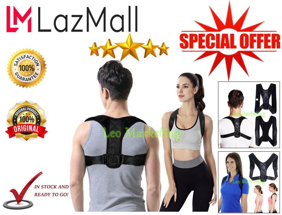 Leo Marketing 100% Original Adjustable Back Sculpting Correction humpback Body Support Corrector Support Back Pain