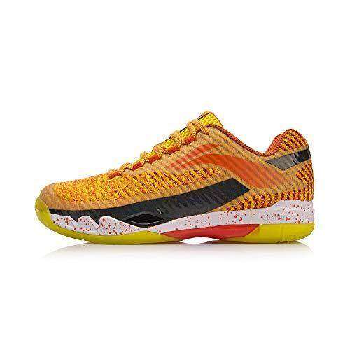 Li-Ning Professional Badminton Shoes - Orange AYAN011-1