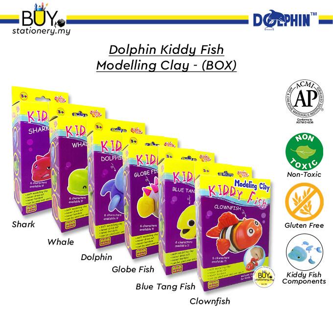 Dolphin Kiddy Fish Modelling Clay - (BOX)