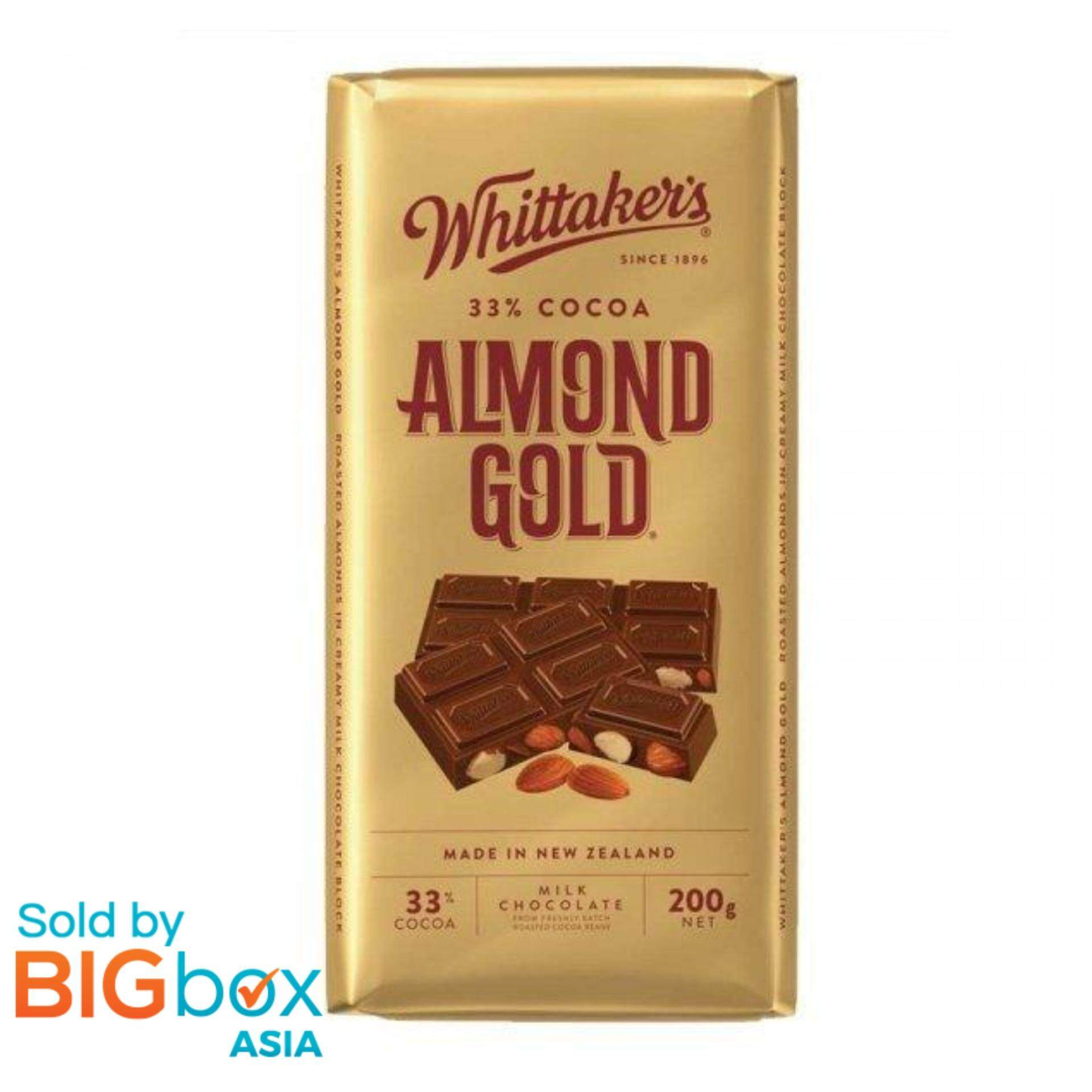 Whittakers Blocks 200g - Almond Gold