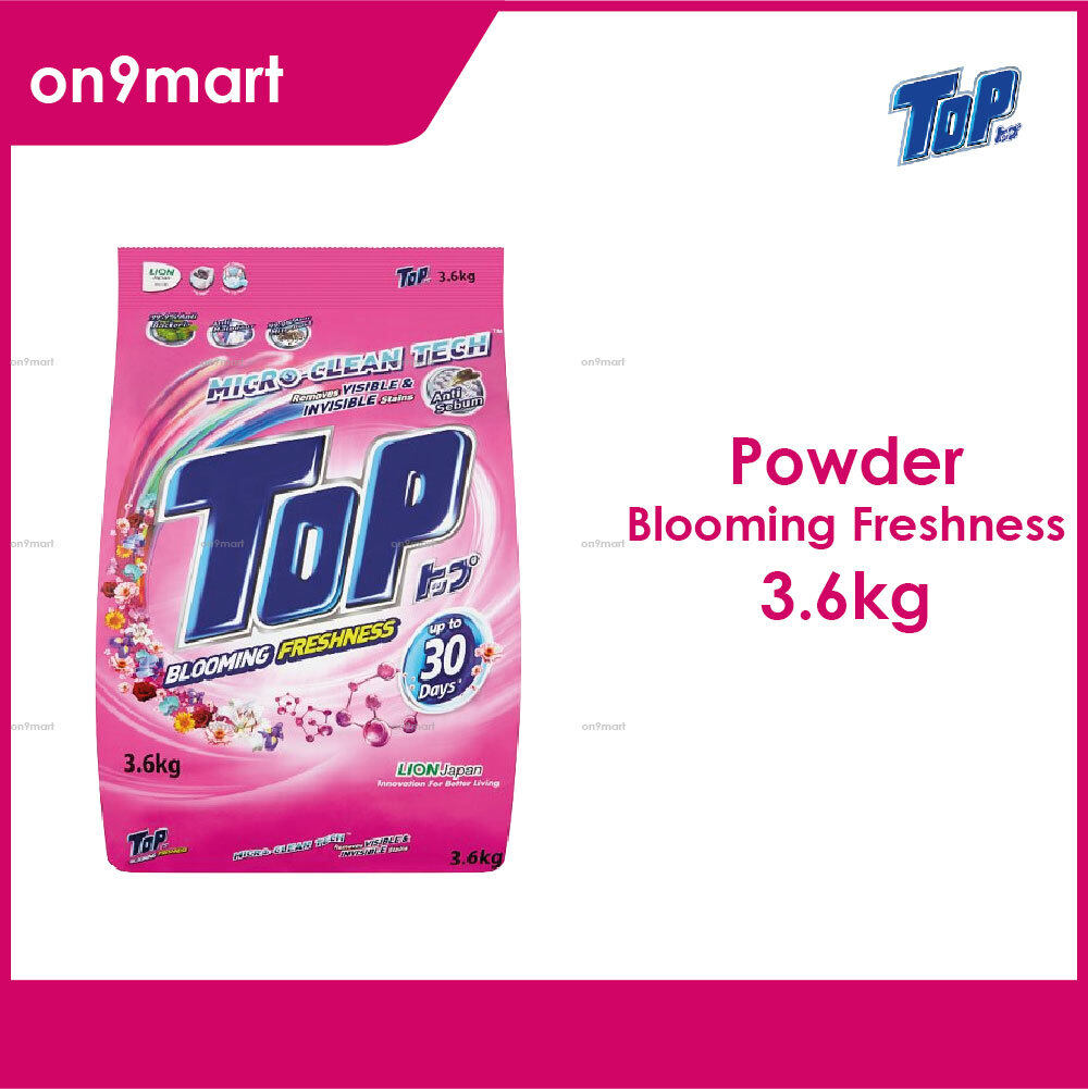TOP Powder Laundry Detergent - Blooming Freshness 3.6kg