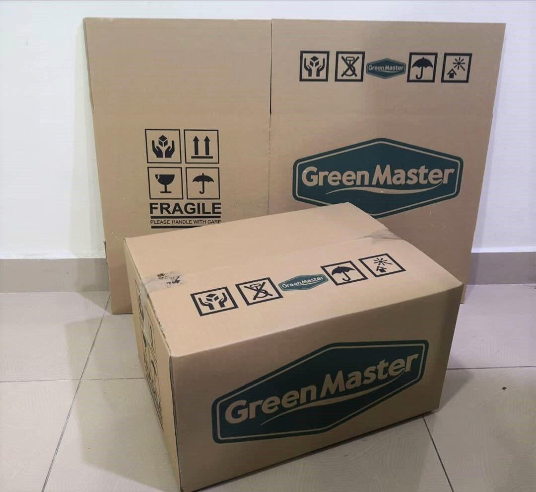 10pcs Printed Carton Boxes (L448 X W338 X H246mm)