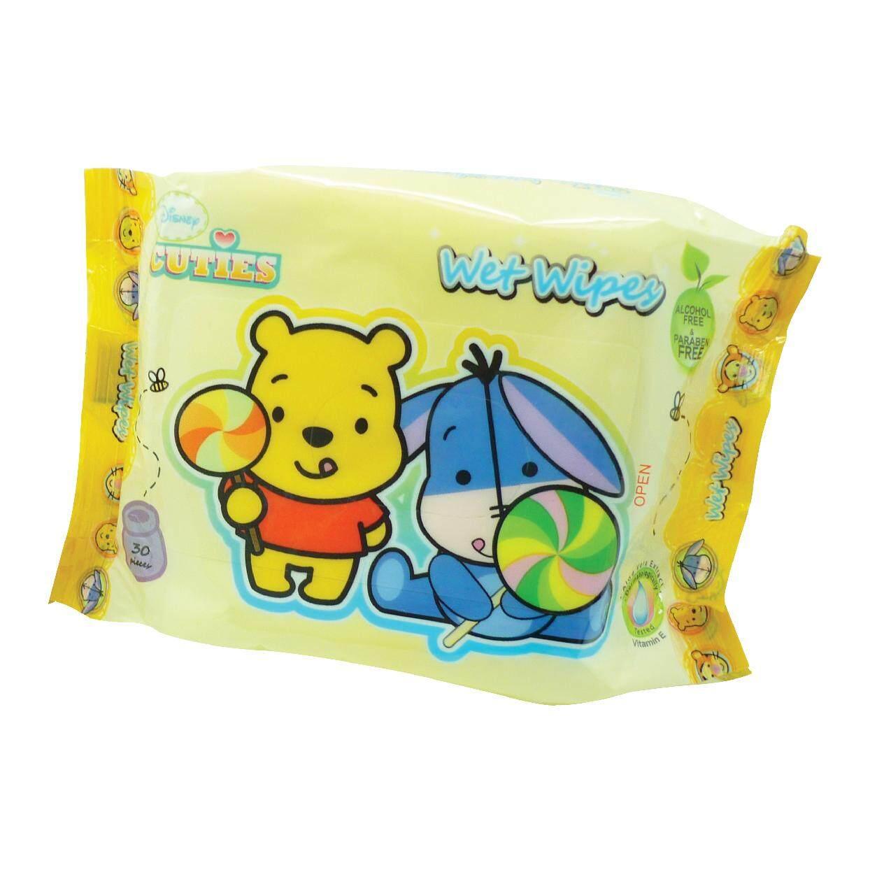 Disney Cuties Wet Wipes (Tigger & Pooh) 30's