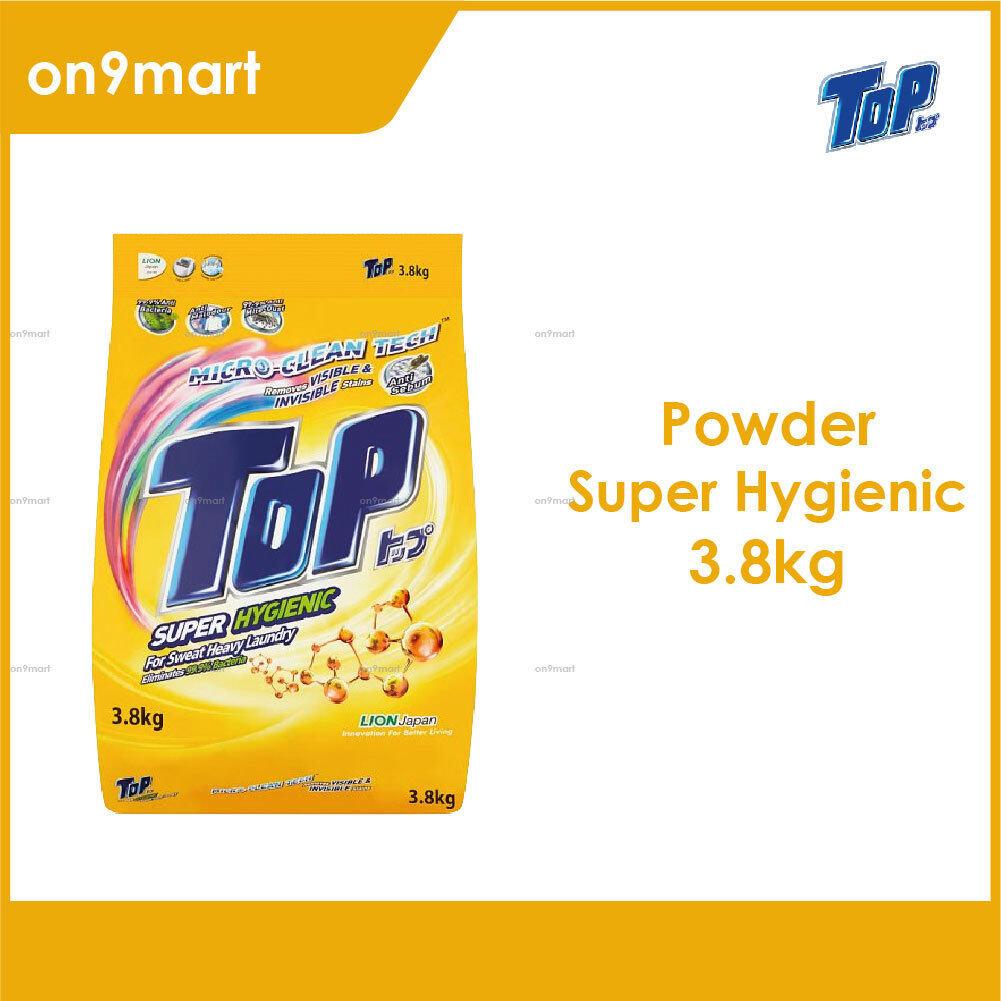TOP Powder Laundry Detergent - Super Hygienic 3.8kg