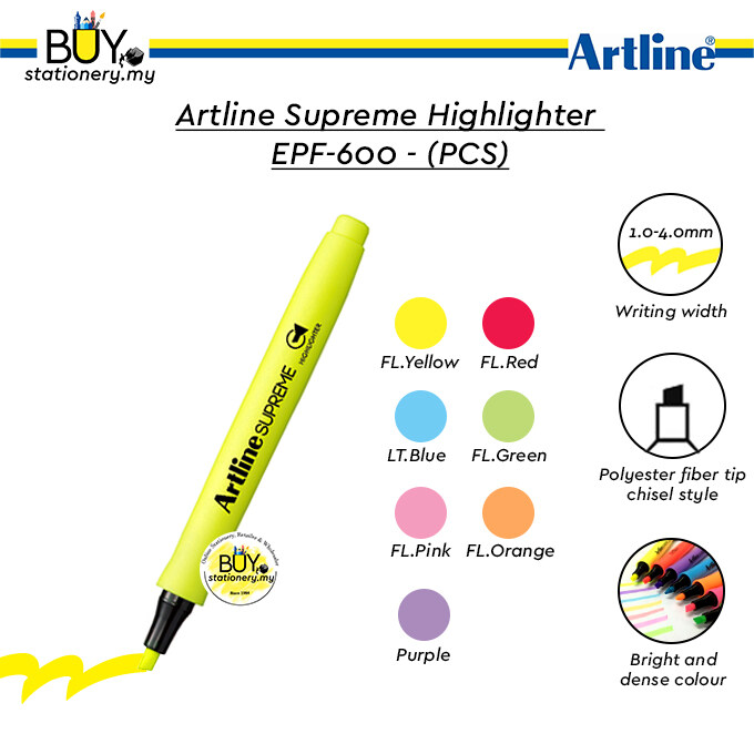 Artline Supreme Highlighter EPF-600 – (PCS)