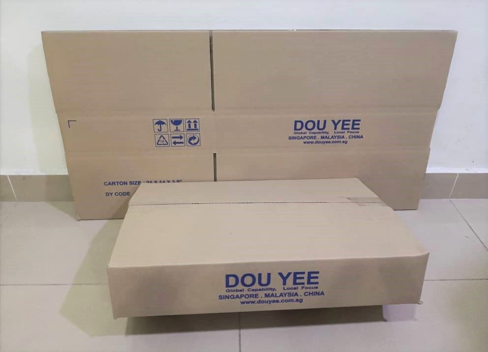 5pcs Printed Carton Boxes (L545 X W357 X H102mm)