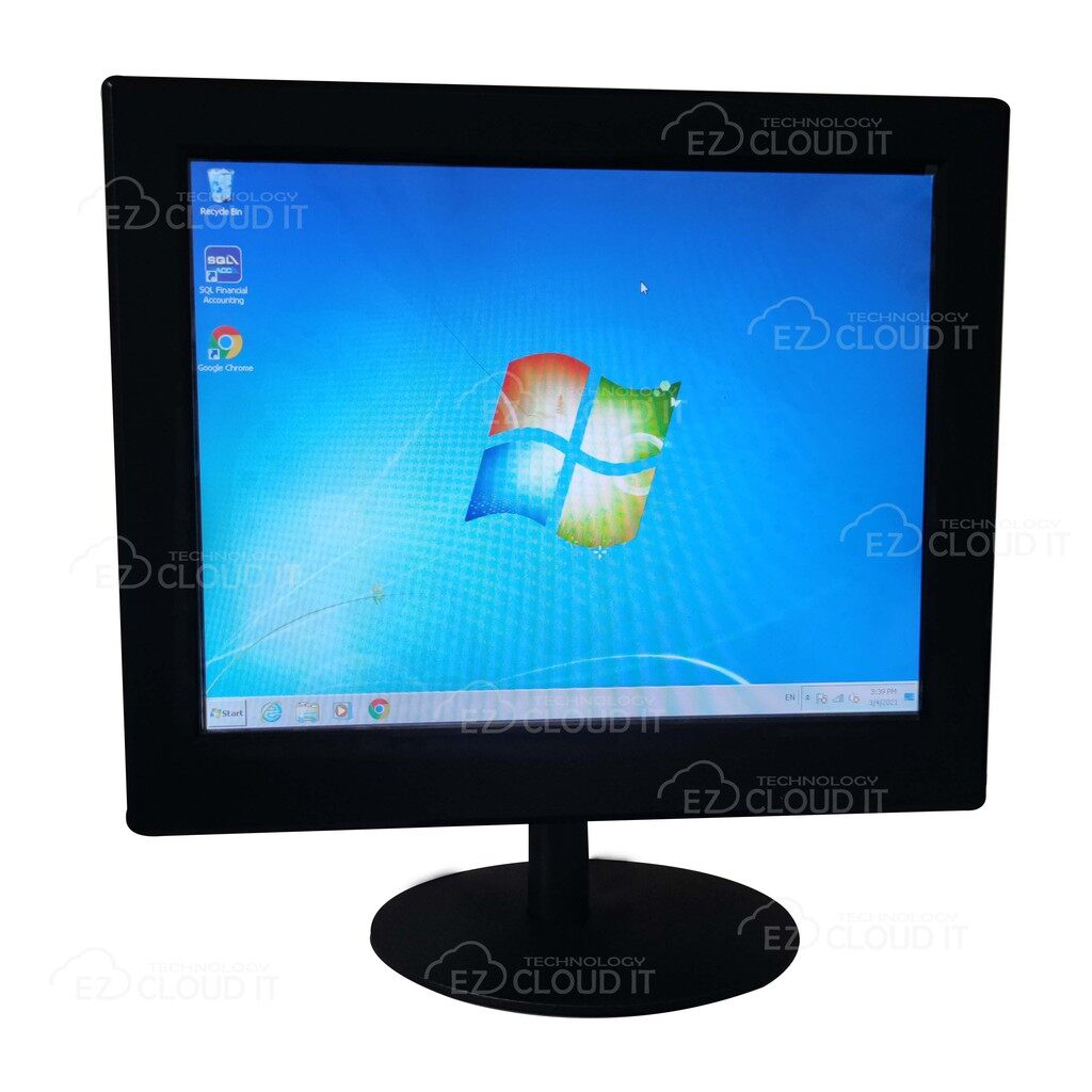 EZC 15 INCH MULTI TOUCH TOUCHSCREEN MONITOR FOR POS SYSTEM GAMING MEDICAL DEVICE