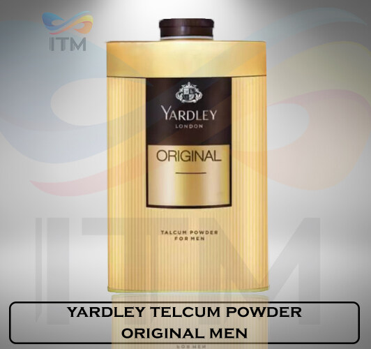 YARDLEY TALCUM POWDER ORIGINAL MEN 150 GM