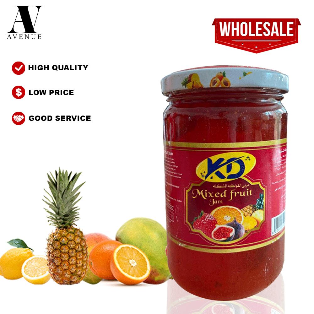 Kd Mixed Fruit Jam 370 g  مربي مشكل فواكه