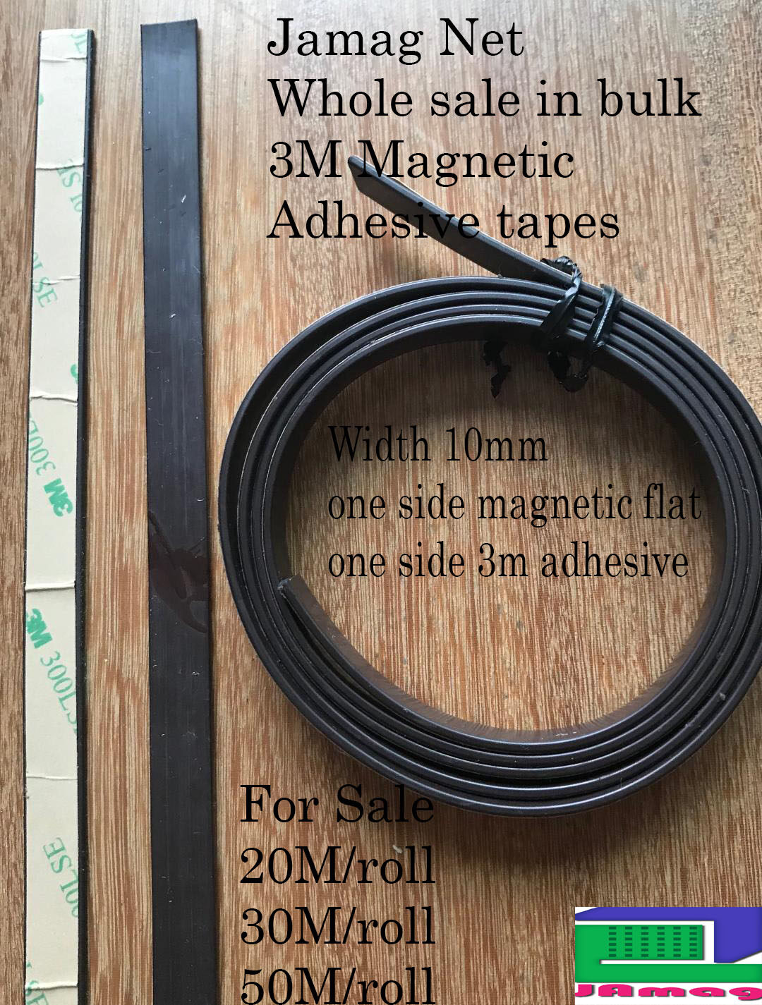DIY Magnetic Mosquito 3M Adhesive Tapes L10M x 10mm width