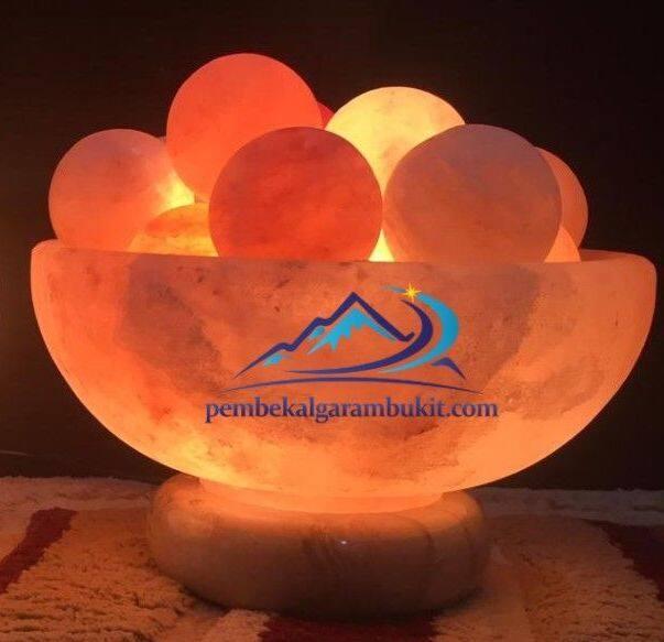 Lampu Garam Bukit Bentuk Mangkuk bola salt ball bowl fireballs SPECIAL EDITION 8inch