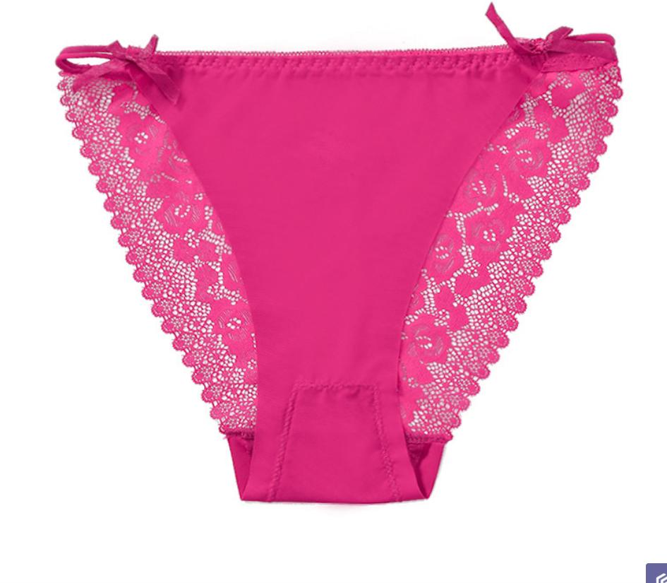 Women Panties Middle Waist panties Breathable No Trace Antibacterial Panty seluar dalam wanita