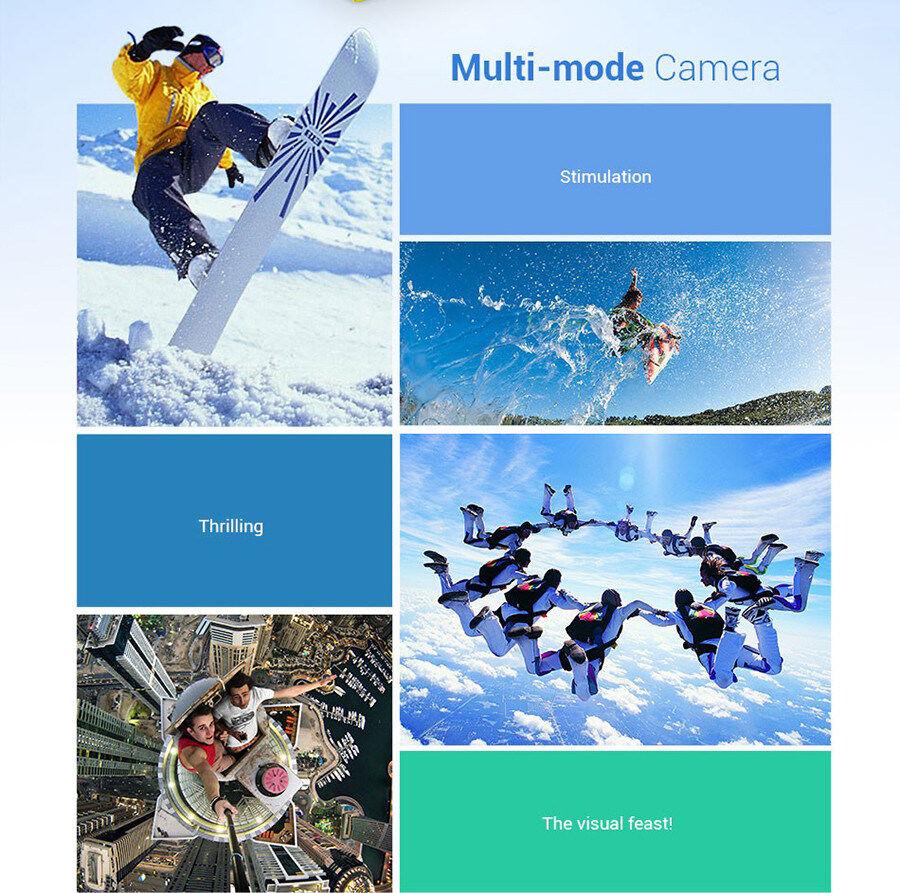 Ready Stock 4K Ultra HD 30M Waterproof Sports Action Camera DV DVR 2.0