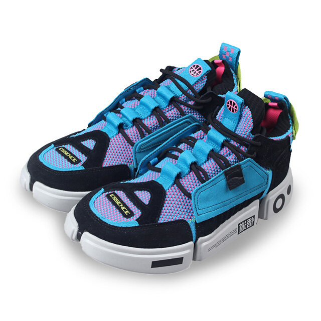 Li-Ning PFW Wade Essence Ace Women's Basketball Shoes - Blue AGBN062-14