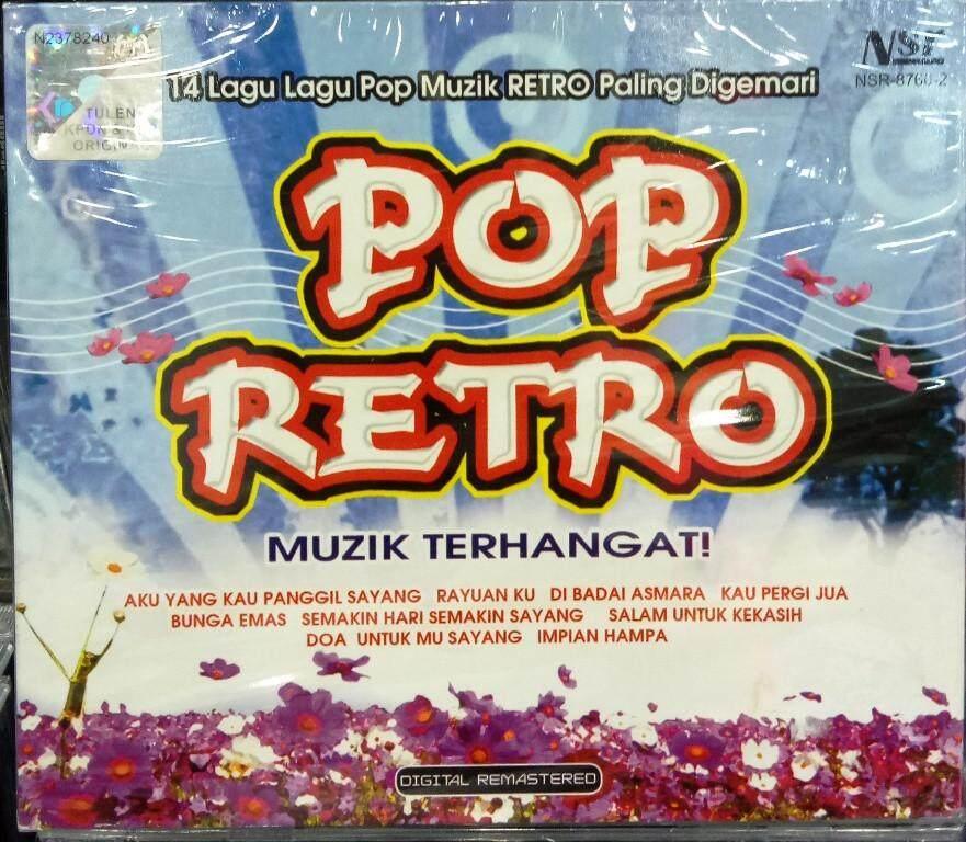 Pop Retro CD 14 Lagu Pop Muzik Paling Digemari Khairool Idlan Rohana Jalil Sera Adam Ahmad Iklim Dayangku Intan
