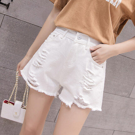 (Pre Order 14 Days)JYSFashionKoreanStyleWomenJeansPantCollectioncol538-338 white 27