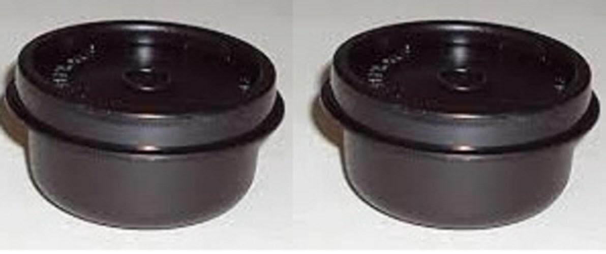Tupperware rare /  jarang - smidget 30ml in black color (2)