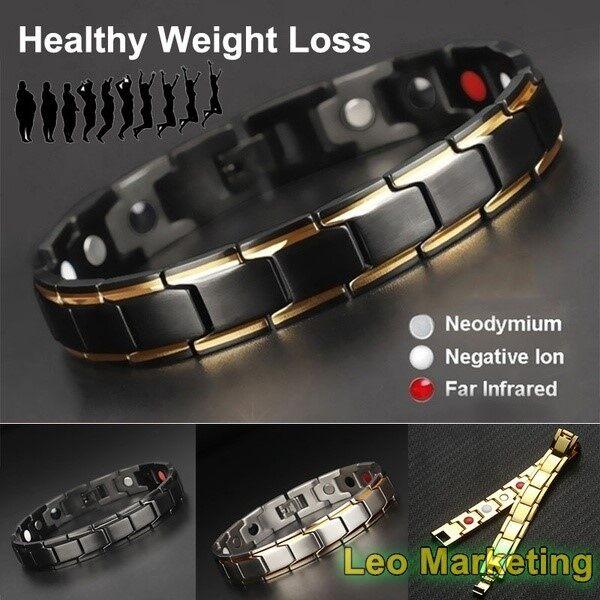 Leo Marketing 100% Original Bracelets Bangles Energy Balance Germanium Magnetic Bracelets For Unisex Health medical