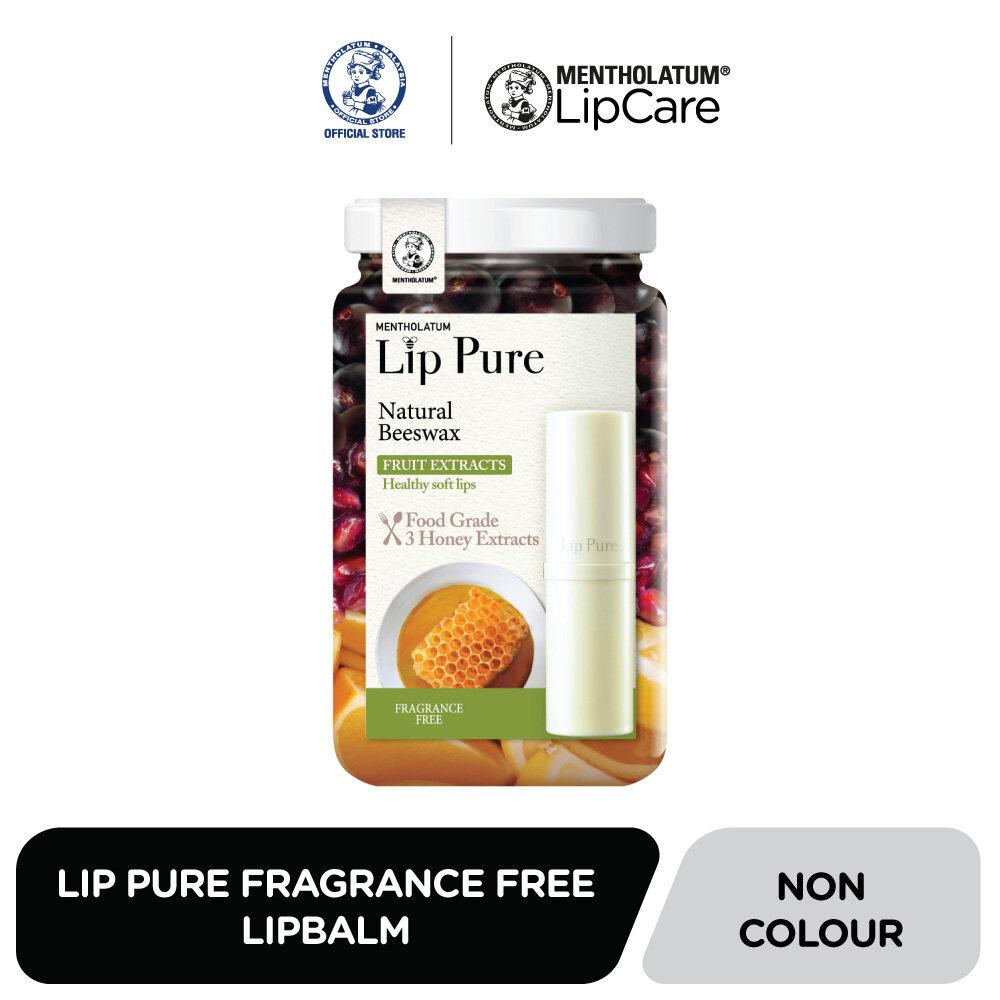 Mentholatum LIP PURE Lipbalm Frangrance Free