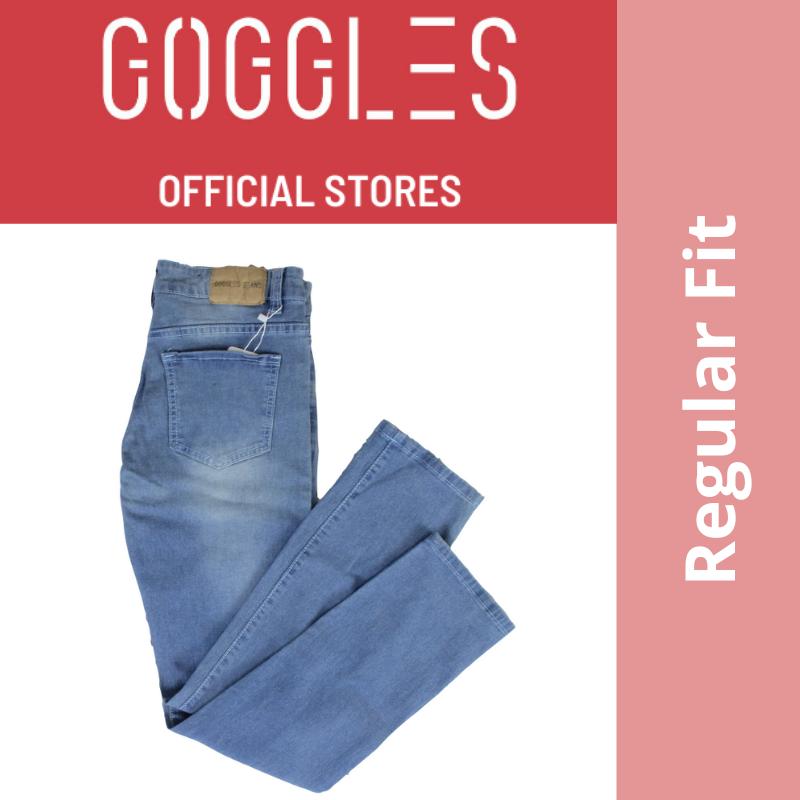 GOGGLES Ladies Denim Women Jeans Regular Fit Light Blue 100338