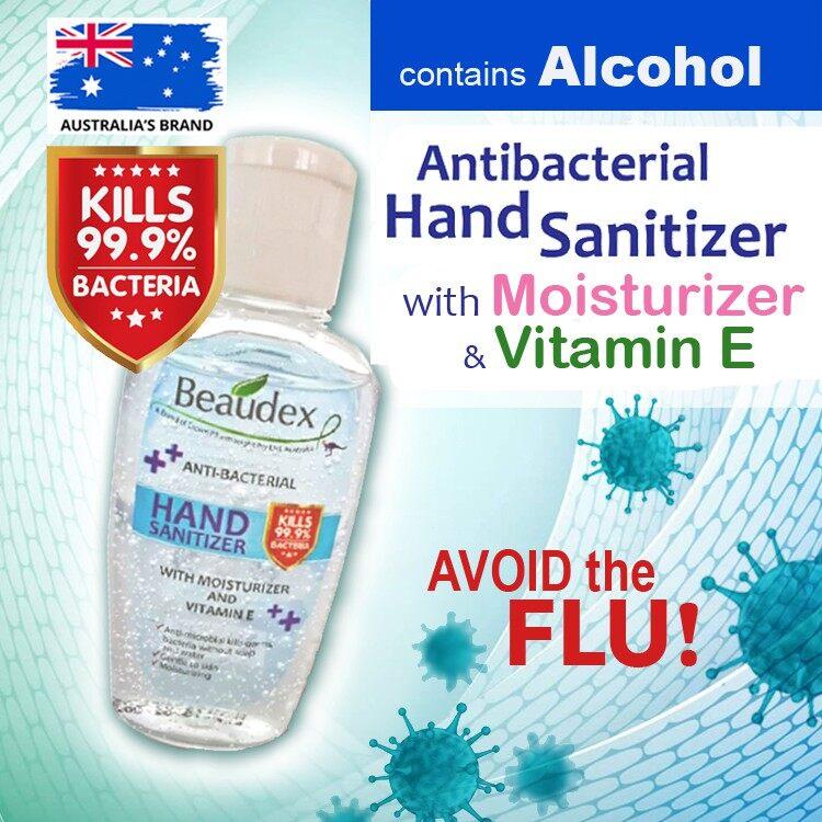 Beaudex Anti-Bacterial Hand Sanitizer 50ml (1pcs)