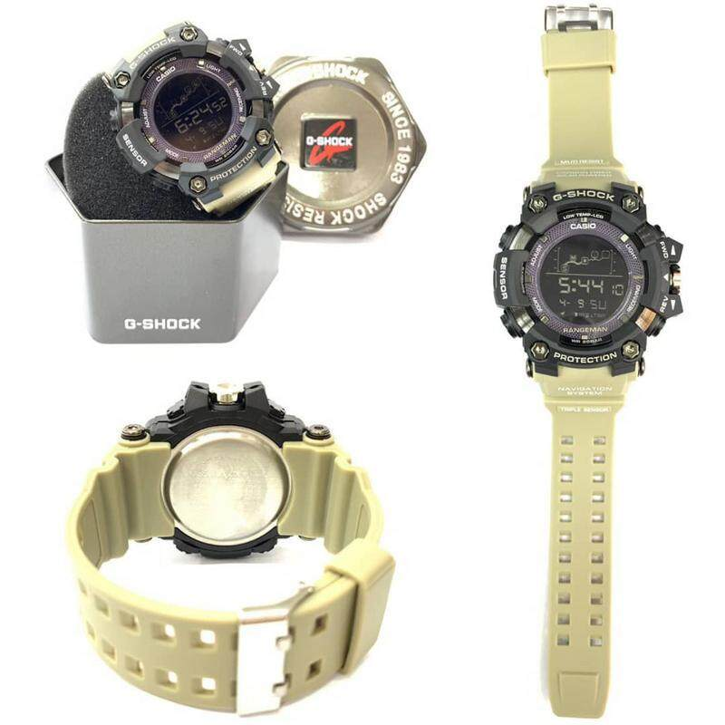 New Sport Mudmaster Casio_G_SHOCK_Dual Time Dual Time Display Fashion Casual Watch For Men Ready Stock 100% Mineral Glass New Design