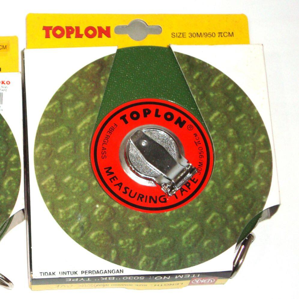 TOPLON 30M FIBERGLASS MEASURING TAPE  x 1pc