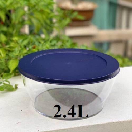 tupperware premium bowl  2.4L - clear color (1)