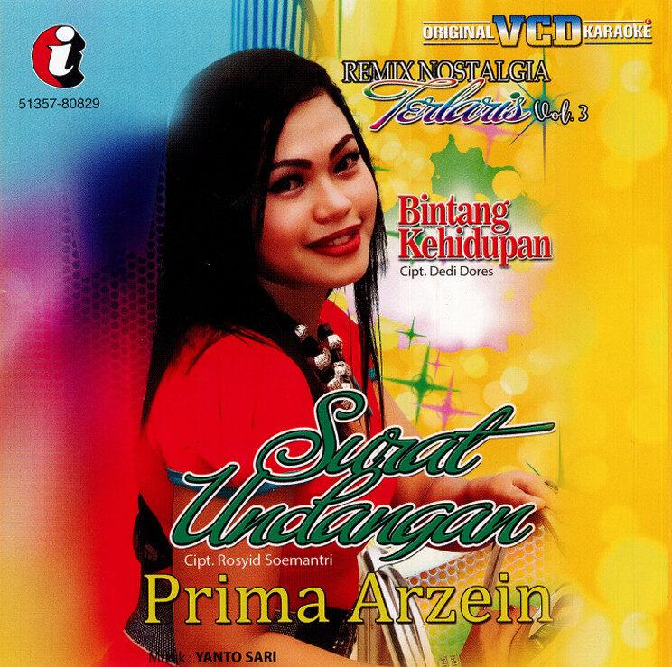 Prima Arzein  Remix Nostalgia Laris Vol. 3 Original VCD Karaoke