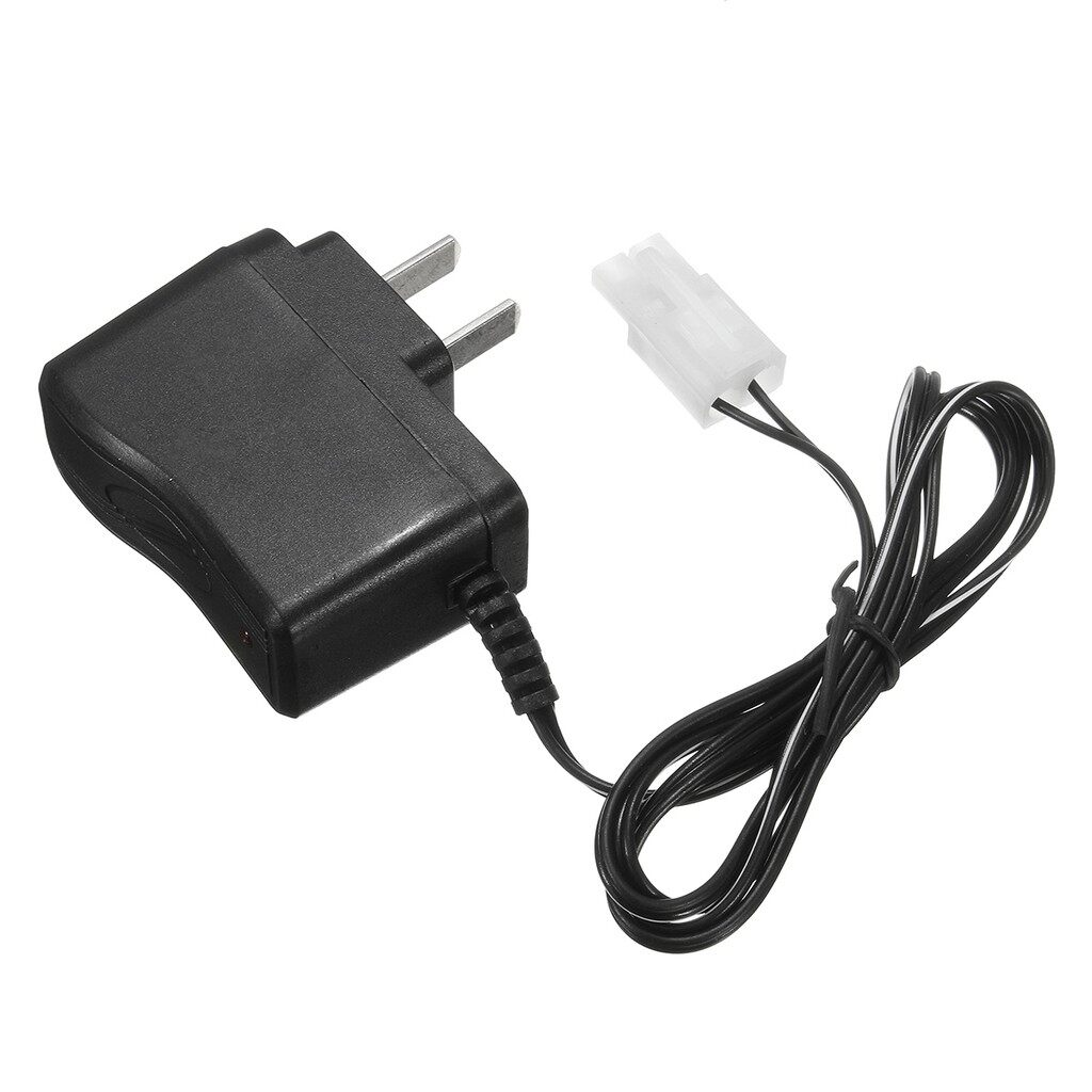 Chargers - DC 7.2V Battery Pack Wall Charger Quick Adapter Ni-CD Ni-MH Rechargeable Plug - Cables