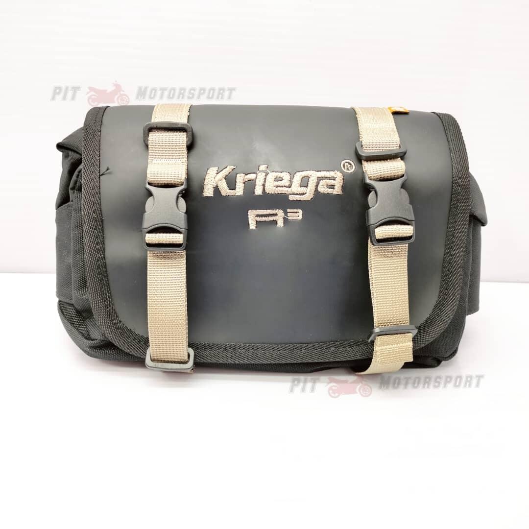 KRIEGA R3 Waist Pouch Bag 100% Waterproof KREIGA 3 Liter MT15 R15 FZ150 RFS150 VF3i Y15ZR LC135 EX5 MT25 CBR250RR RS Waist Bag Motor Accessories