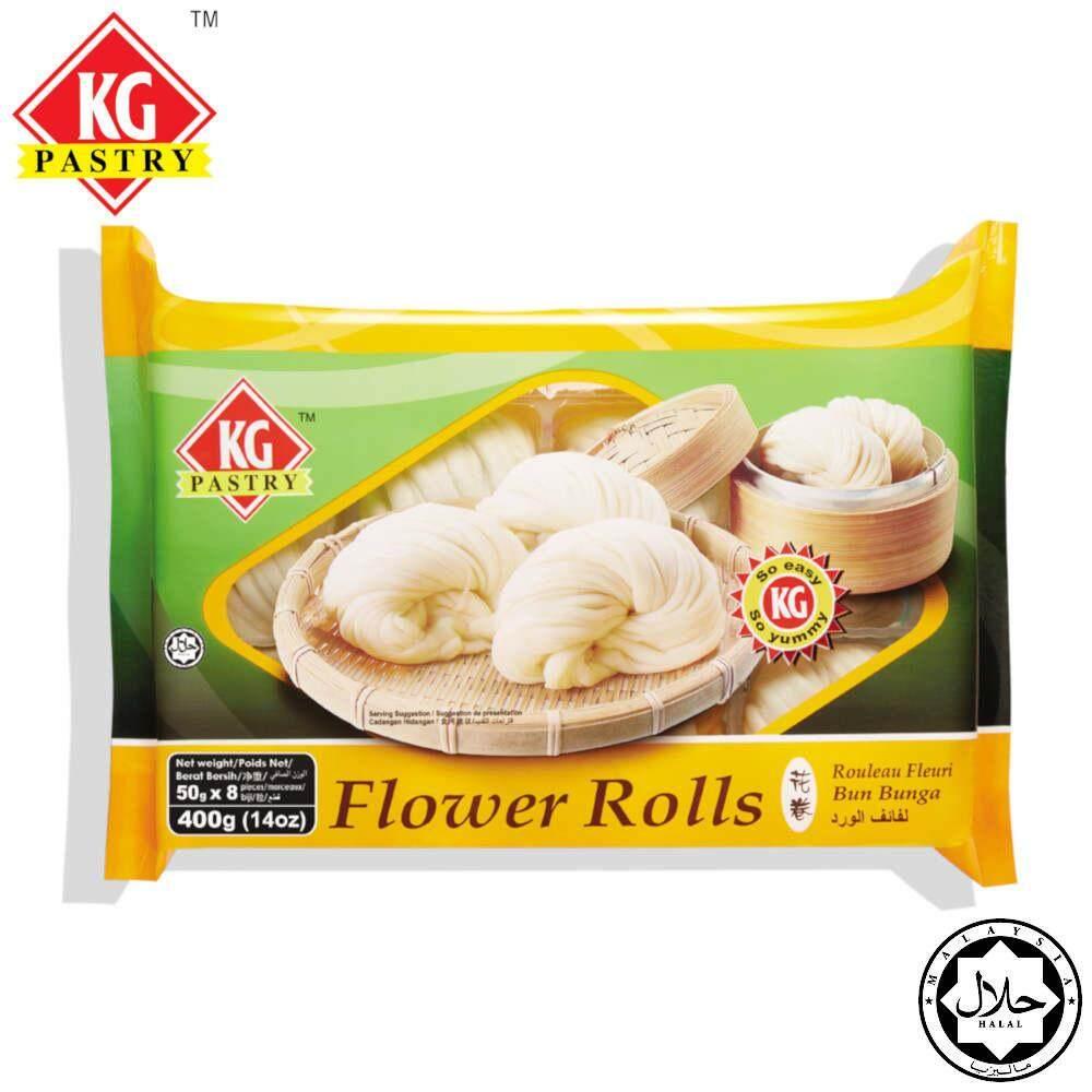 KG PASTRY Flower Roll Original (8 pcs - 400g)
