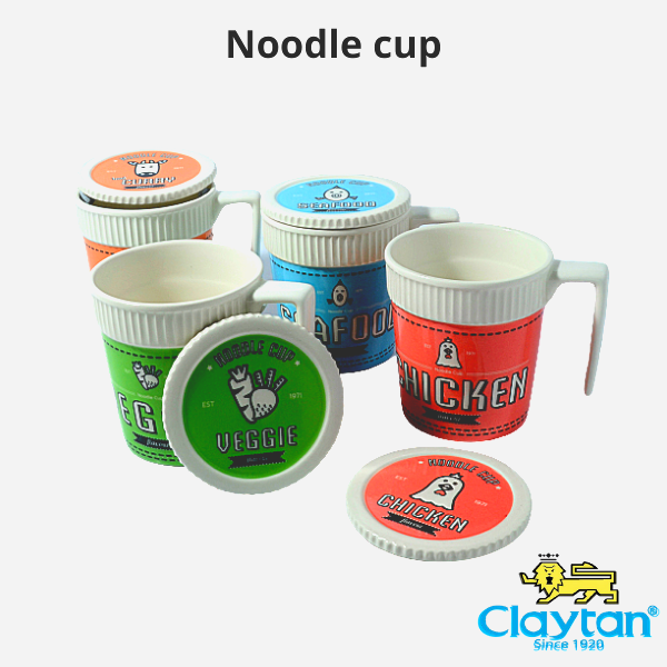 (Ready Stock) Claytan Noodle Cup-Mee Cawan-319FD-Tableware-Hadiah-Gift
