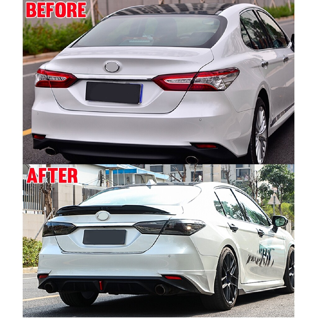 Car Lights - TOYOTA CAMRY GLOSS BLACK TRD STYLE DUCKBILL TRUNK LID SPOILER WING - Replacement Parts