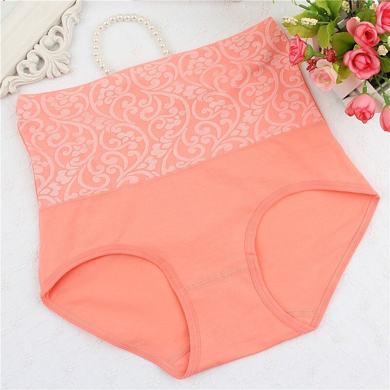 3x Pieces Women Ladies Seamless High Waist Slimming Shaping Underwear Panties Seluar Dalam Wanita Shaper
