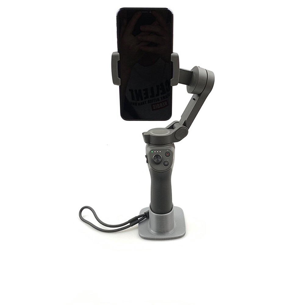 Gimbals and Stabilizers - 3D Printed Base Holder Mount for DJI OSMO Mobile 3 Handheld Gimbal - VERTICAL BASE / TILT BASE