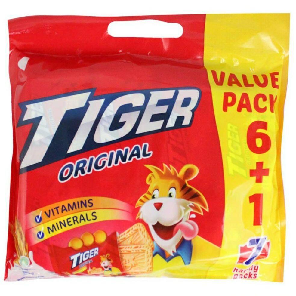 Tiger Biscuit Value Pack Original 6+1 (420g)