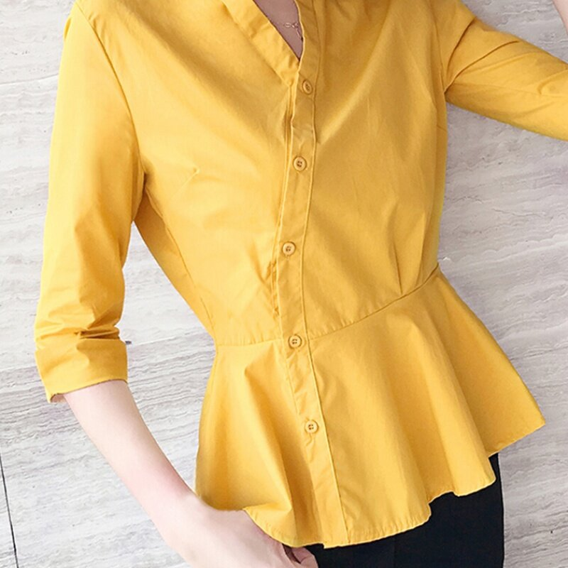 JYS Fashion Korean Style Women Long Sleeve Blouse or Top Collection 535- 3377