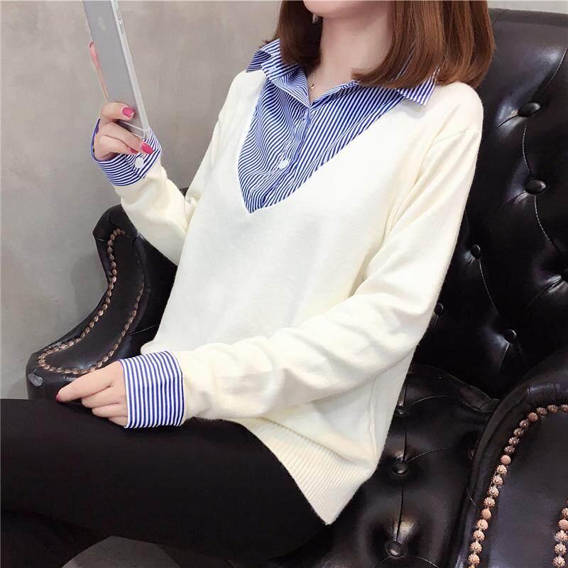 (Pre Order14 Days JYS Fashion Korean Style Women Knit TopCollection525-9421col526-9421--Rice White-S