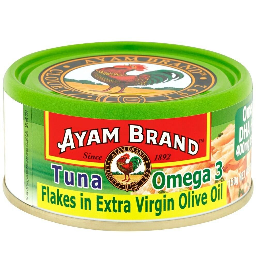 Ayam Brand Tuna Flakes Omega 3 150g
