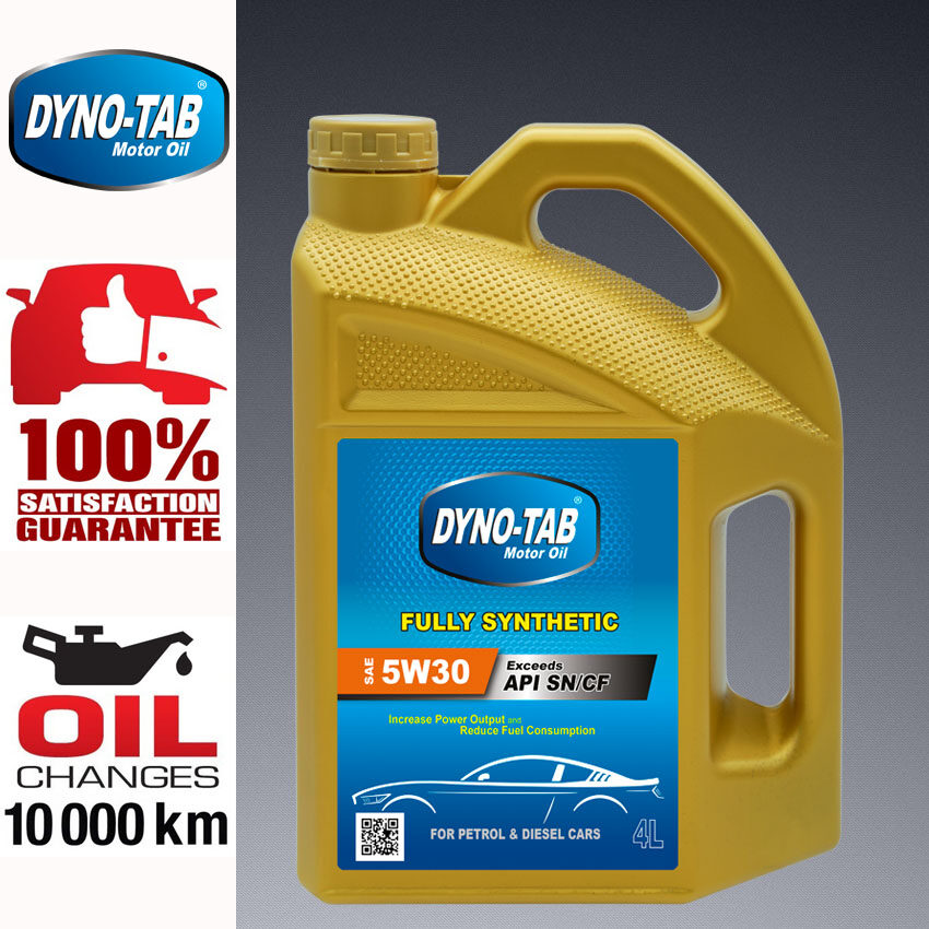 Dynolube 5W40 with DYNONFT Fully Synthetic Engine Oil SN/CF 4Liter FREE Magic101 Car Wash 150ml [Limited time offer]