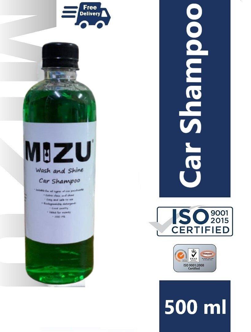 MIZU Car Wash and Shine Shampoo 500 ML