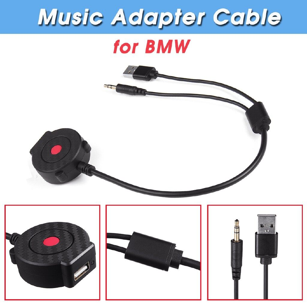 Car Lights - Interface WIRELESS AUX USB BLUETOOTH Music Adapter Cable Kit for BMW MINI Copper - Replacement Parts