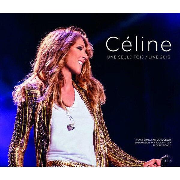 Celine Dion French + English Album - Cline Une Seule Fois / Live 2013 DVD Bonus CD Live In Concert